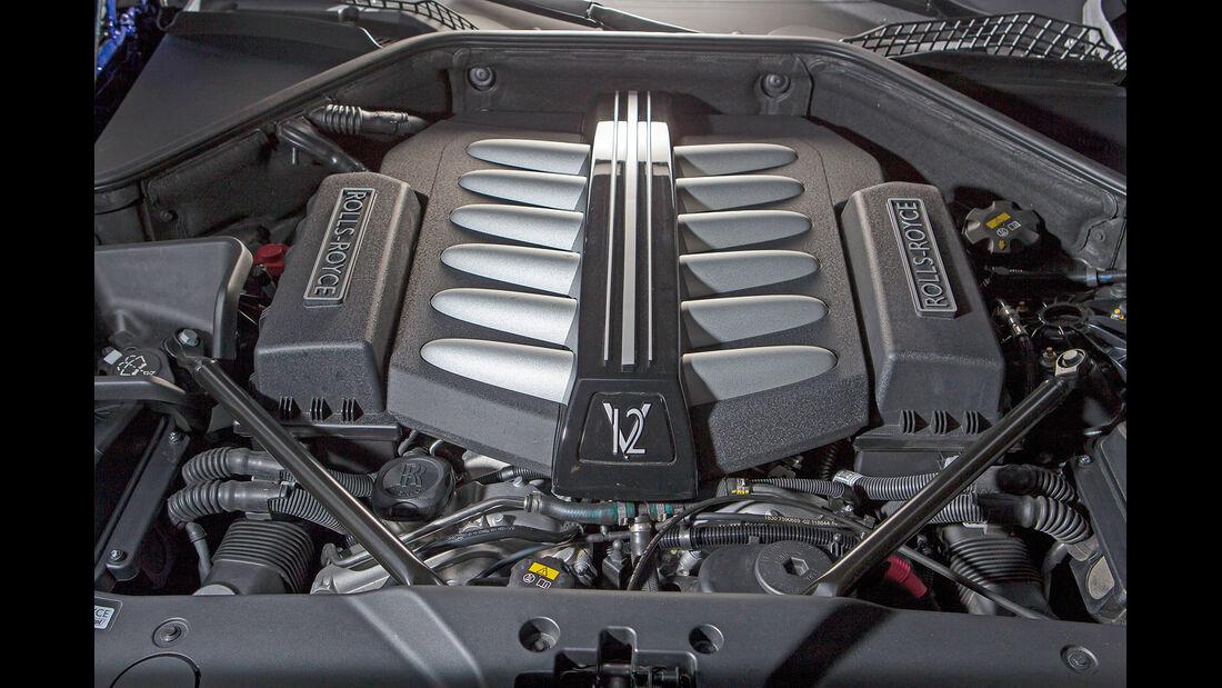 Rolls-Royce Wraith, Motor