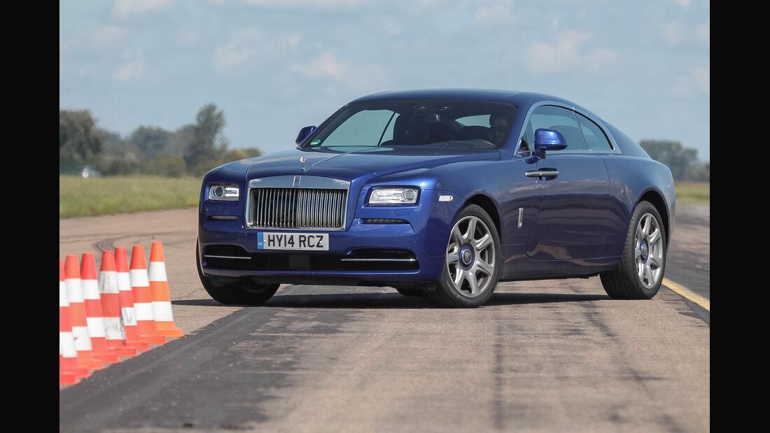 Rolls-Royce Wraith, Seitenansicht