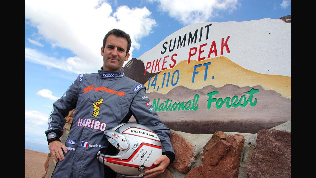 Romain Dumas, Pikes Peak 2012