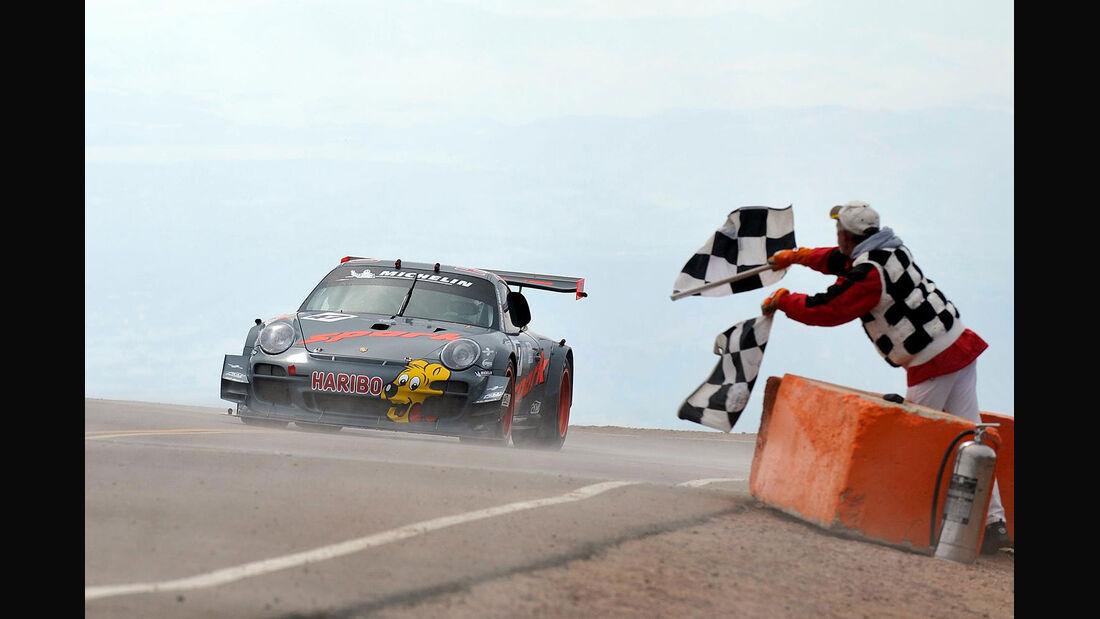 Romain Dumas, Porsche 991 GT3 R, Pikes Peak International Hill Climb 2012