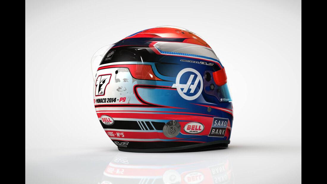Romain Grosjaen - Spezialhelm - GP Monaco 2016