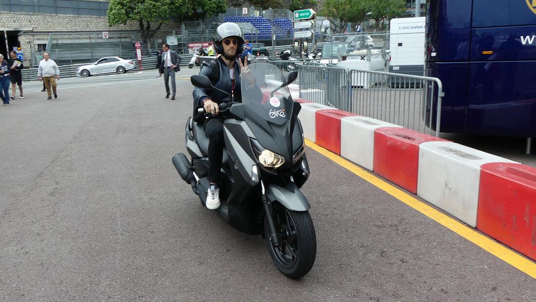 Romain Grosjean - Bike - GP Monaco 2019