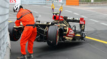 Romain Grosjean - Crash - Formel 1 - GP Monaco - 25. Mai 2013