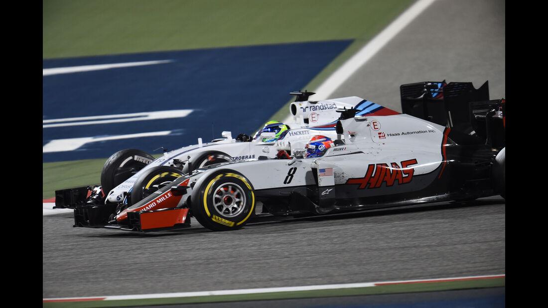 Romain Grosjean - Crazy Stats - GP Bahrain 2016