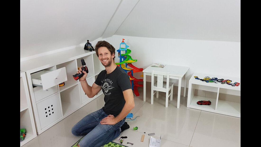 Romain Grosjean - F1- 2017