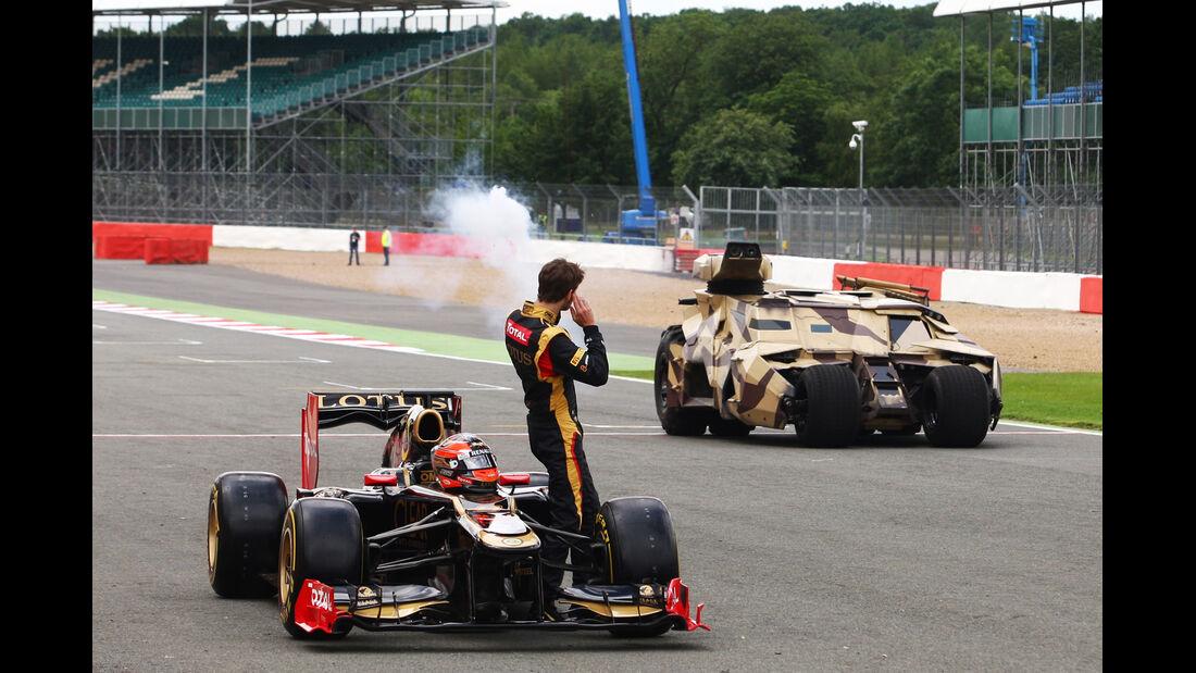 Romain Grosjean F1 Fun Pics 2012