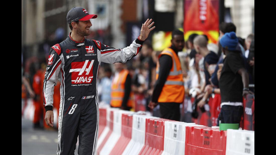 Romain Grosjean - F1 Live Show - London - 2017