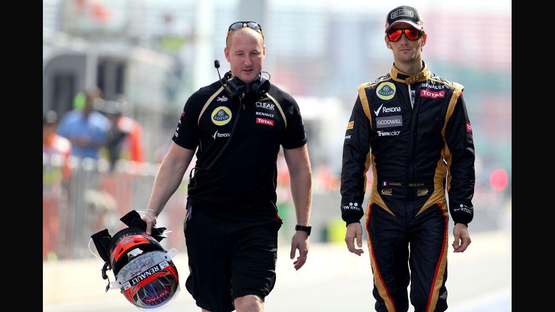 Romain Grosjean - Force India - Formel 1 - GP Korea - 13. Oktober 2012