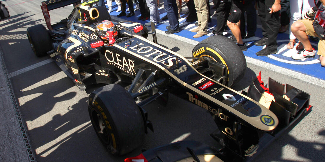 Romain Grosjean Formel 1 2012