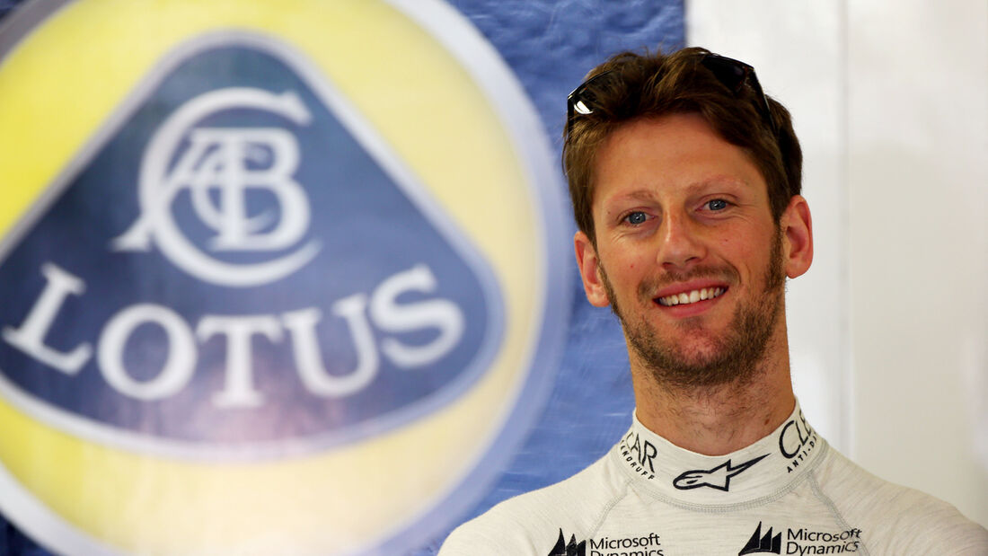 Romain Grosjean - Formel 1 - 2014