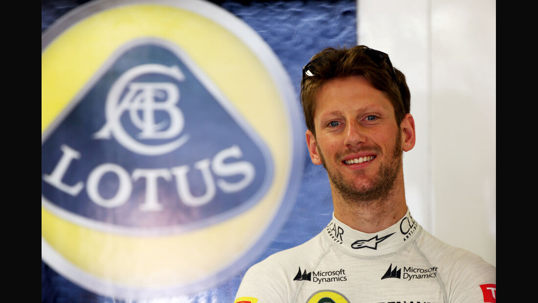 Romain Grosjean - Formel 1 - 2014