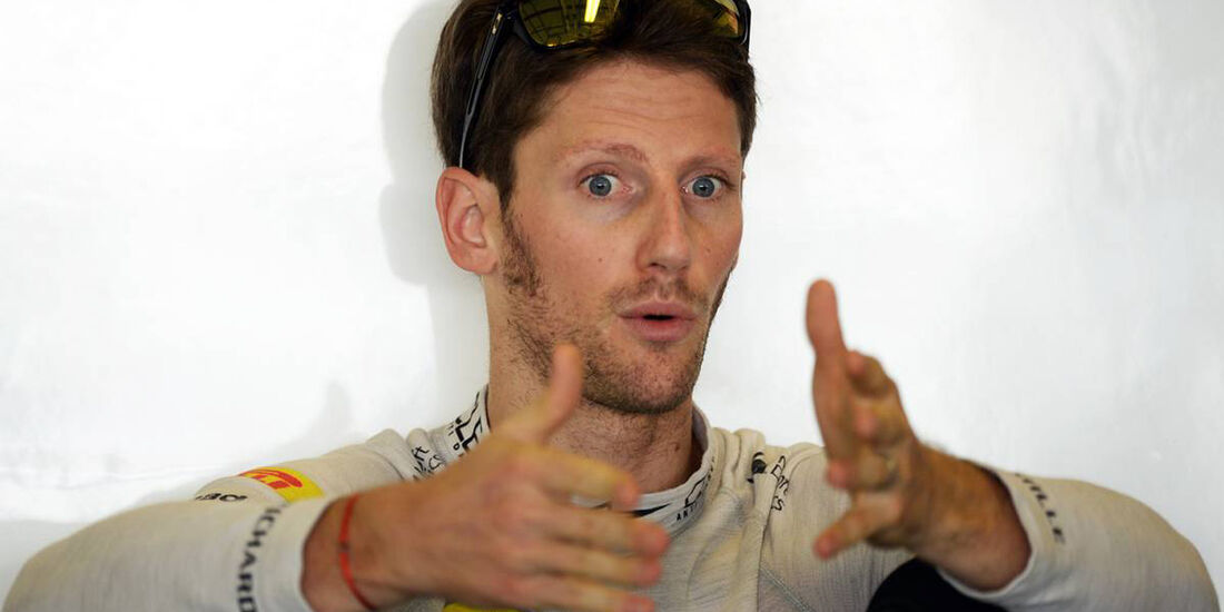 Romain Grosjean - Formel 1 - GP Abu Dhabi - 02. November 2013