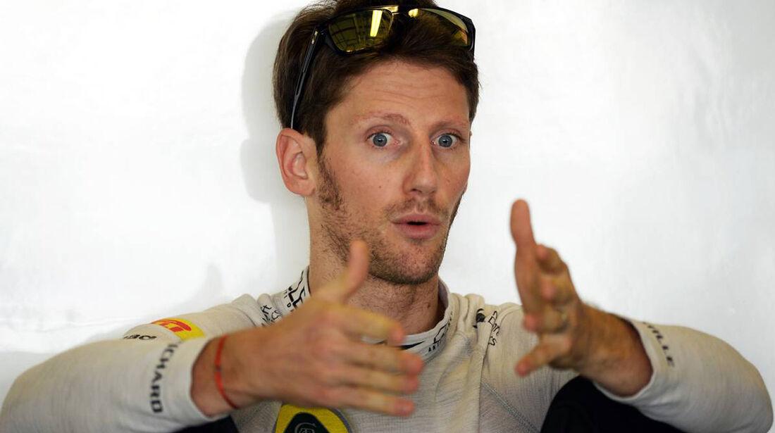 Romain Grosjean - Formel 1 - GP Abu Dhabi - 02. November 2013