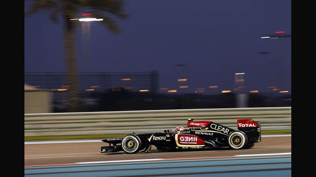 Romain Grosjean - Formel 1 - GP Abu Dhabi - 03. November 2013