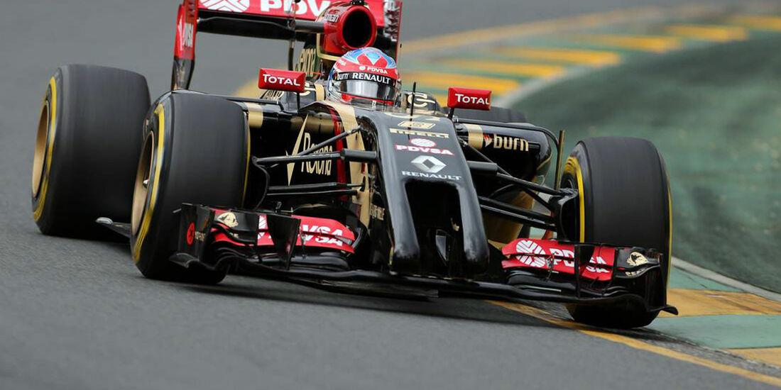 Romain Grosjean - Formel 1 - GP Australien - 15. März 2014