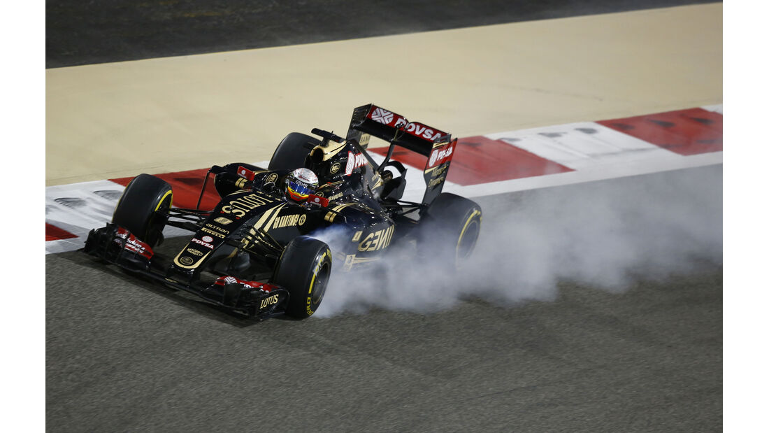 Romain Grosjean - Formel 1 - GP Bahrain 2015