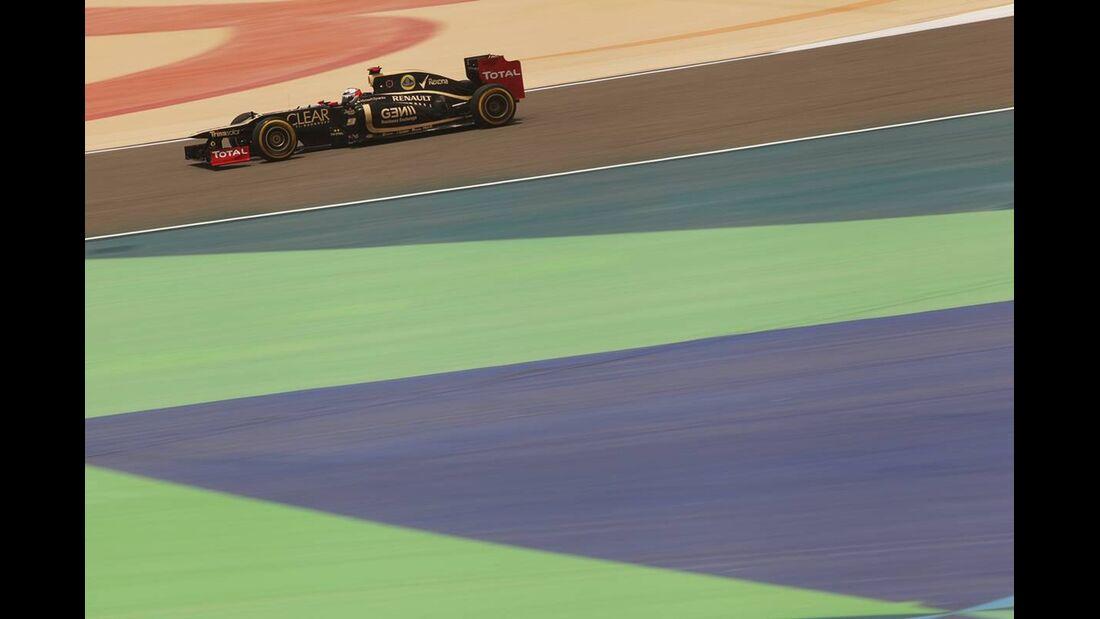 Romain Grosjean - Formel 1 - GP Bahrain - 21. April 2012