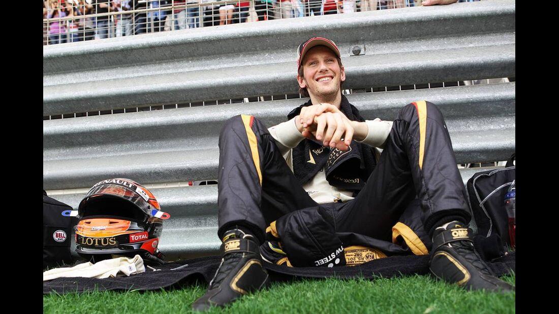 Romain Grosjean  - Formel 1 - GP Bahrain - 22. April 2012