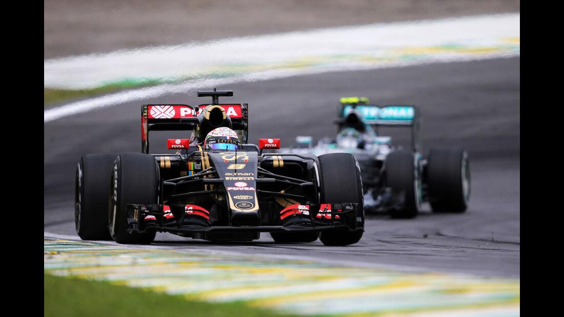 Romain Grosjean - Formel 1 - GP Brasilien 2015