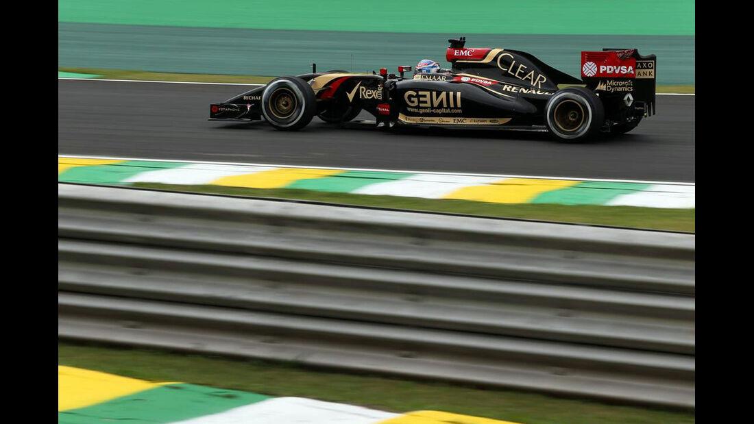 Romain Grosjean - Formel 1 - GP Brasilien- 7. November 2014