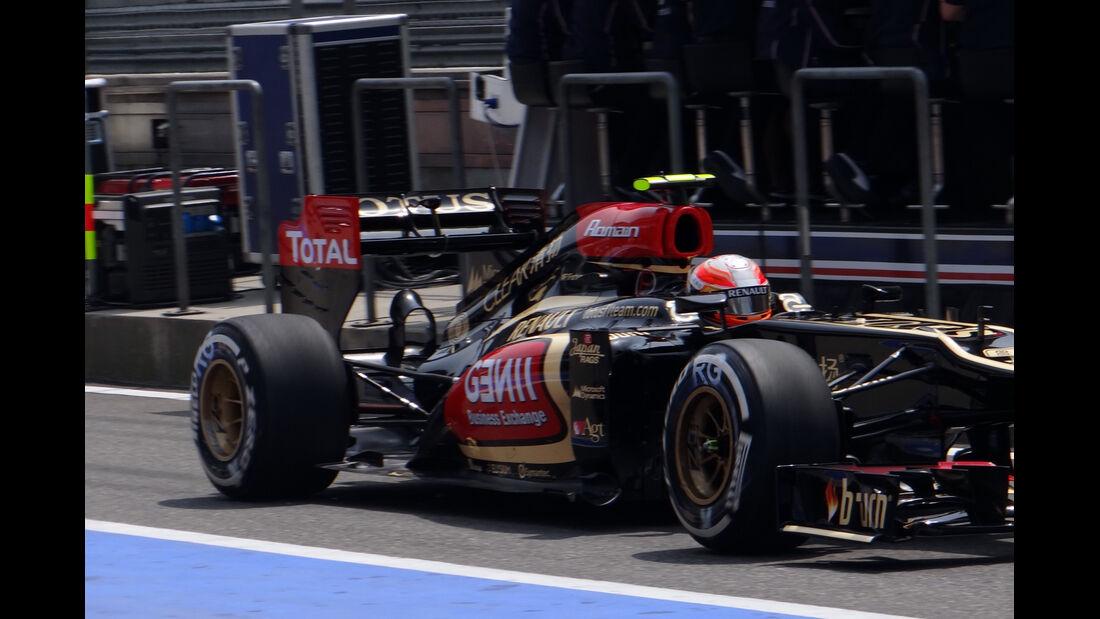 Romain Grosjean - Formel 1 - GP China - 12. April 2013