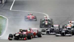 Romain Grosjean  - Formel 1 - GP China - 15. April 2012
