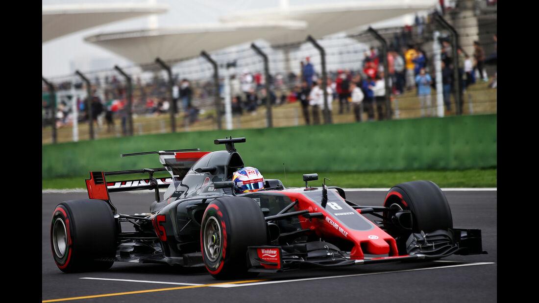 Romain Grosjean - Formel 1 - GP China 2017