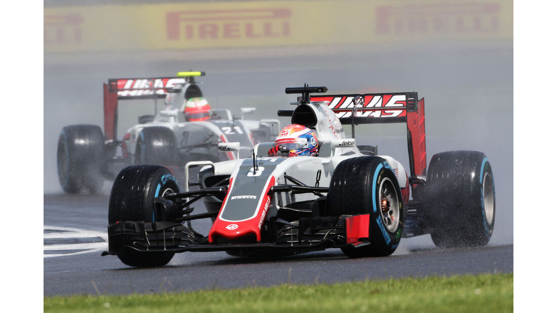 Romain Grosjean - Formel 1 - GP England 2016