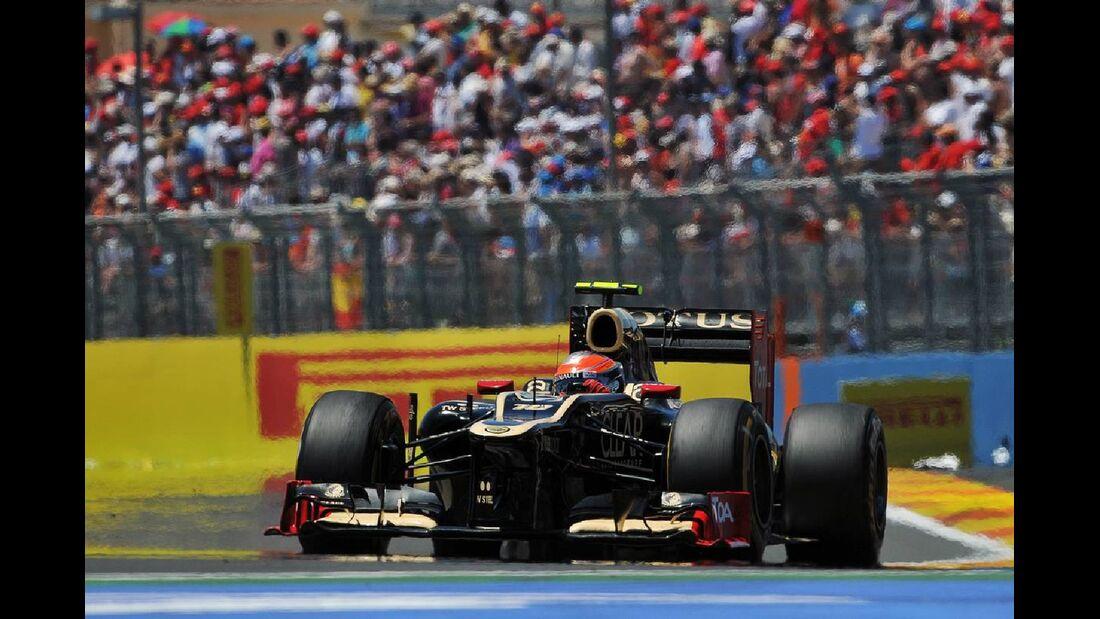 Romain Grosjean - Formel 1 - GP Europa - 24. Juni 2012