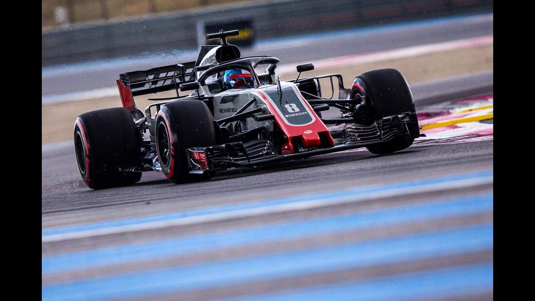 Romain Grosjean - Formel 1 - GP Frankreich 2018