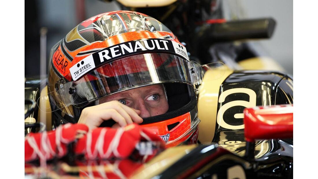 Romain Grosjean - Formel 1 - GP Indien - 26. Oktober 2012