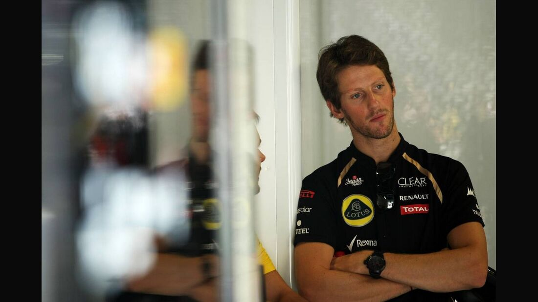 Romain Grosjean - Formel 1 - GP Italien - 07. September 2012