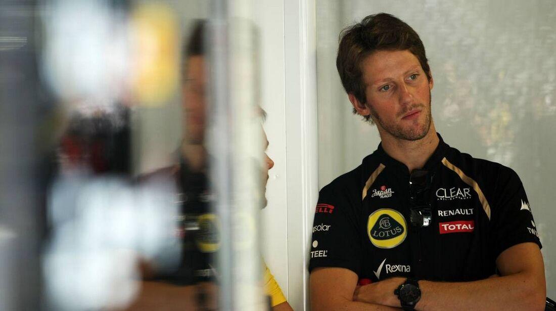 Romain Grosjean - Formel 1 - GP Italien - 07. September 2012