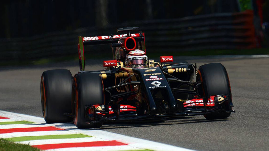 Romain Grosjean - Formel 1 - GP Italien - 5. September 2014