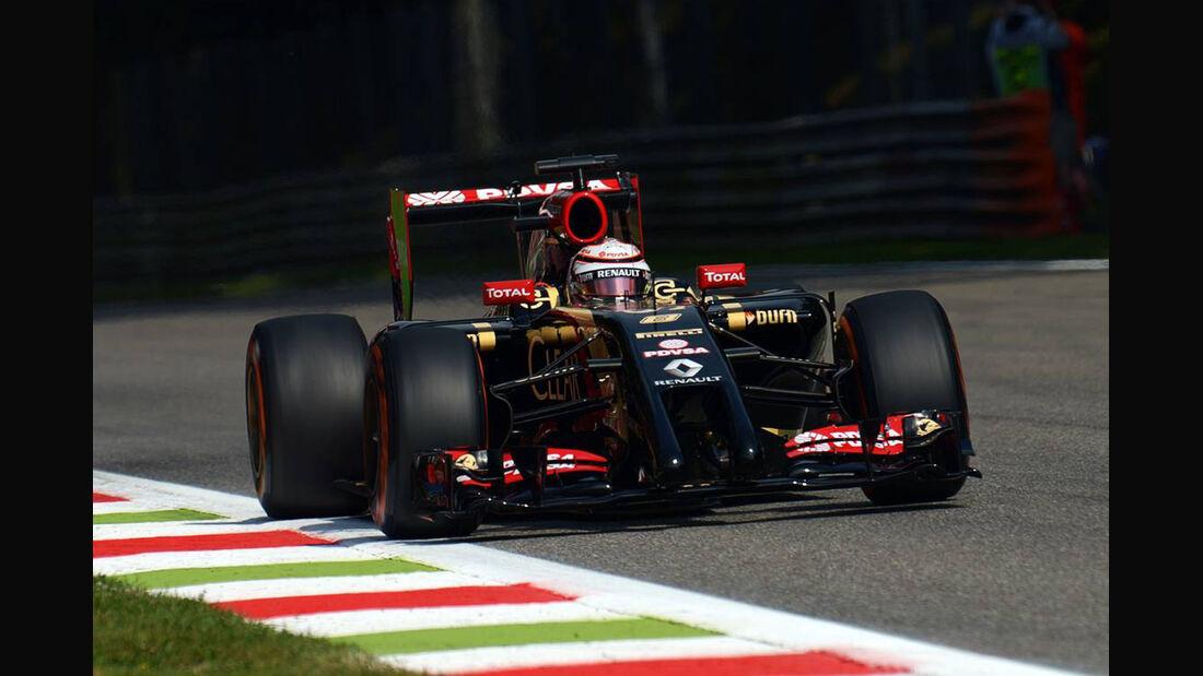 Romain Grosjean - Formel 1 - GP Italien - 5. September 2014
