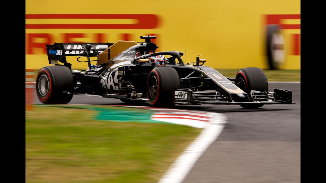 Romain Grosjean - Formel 1  - GP Japan 2019