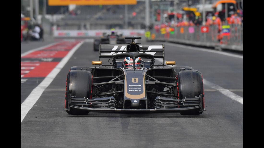 Romain Grosjean - Formel 1 - GP Mexico 2019
