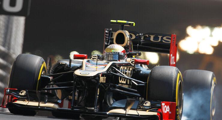 Romain Grosjean - Formel 1 - GP Monaco 2012