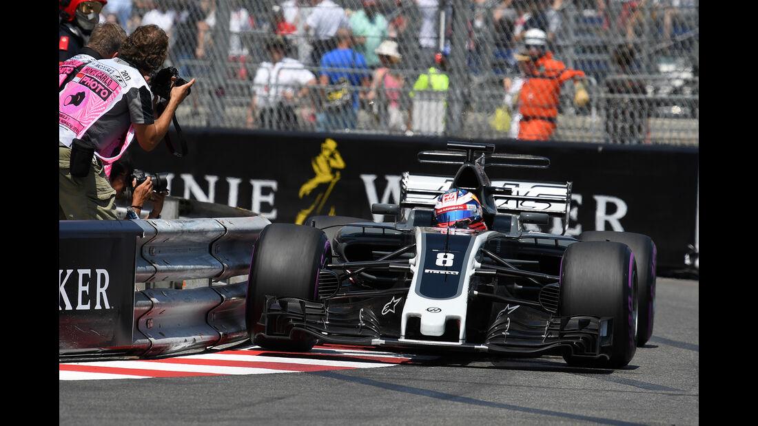 Romain Grosjean - Formel 1 - GP Monaco 2017