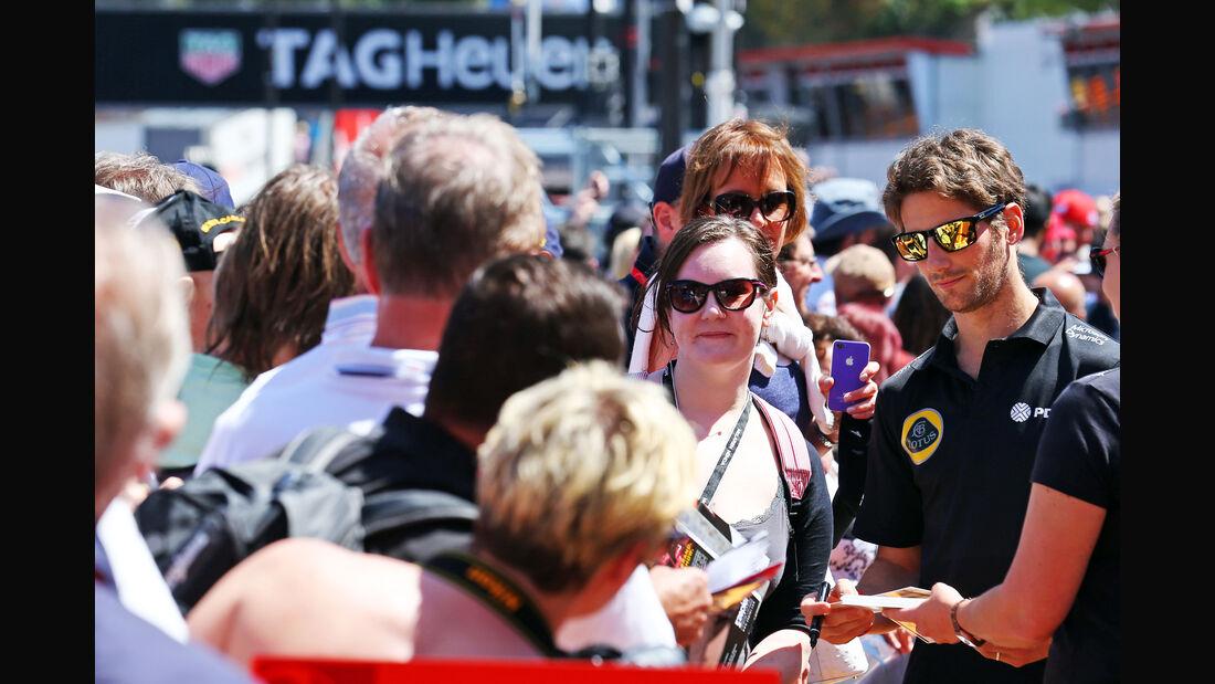 Romain Grosjean - Formel 1 - GP Monaco - Freitag - 22. Mai 2015