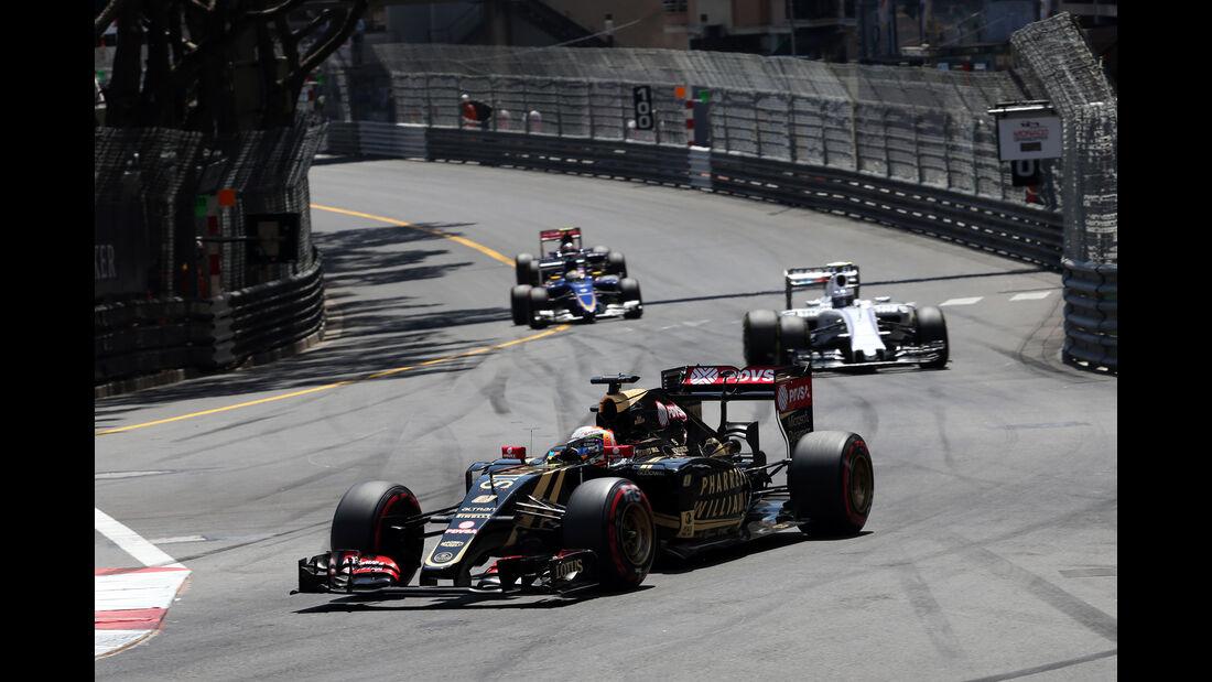 Romain Grosjean - Formel 1 - GP Monaco - Sonntag - 24. Mai 2015