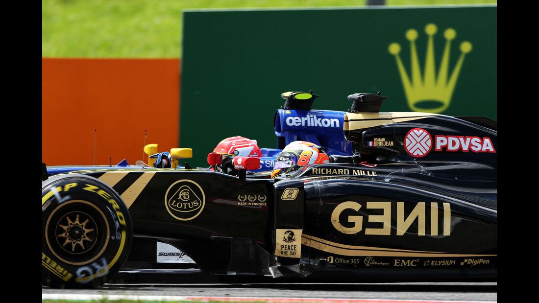 Romain Grosjean - Formel 1 - GP Österreich 2015