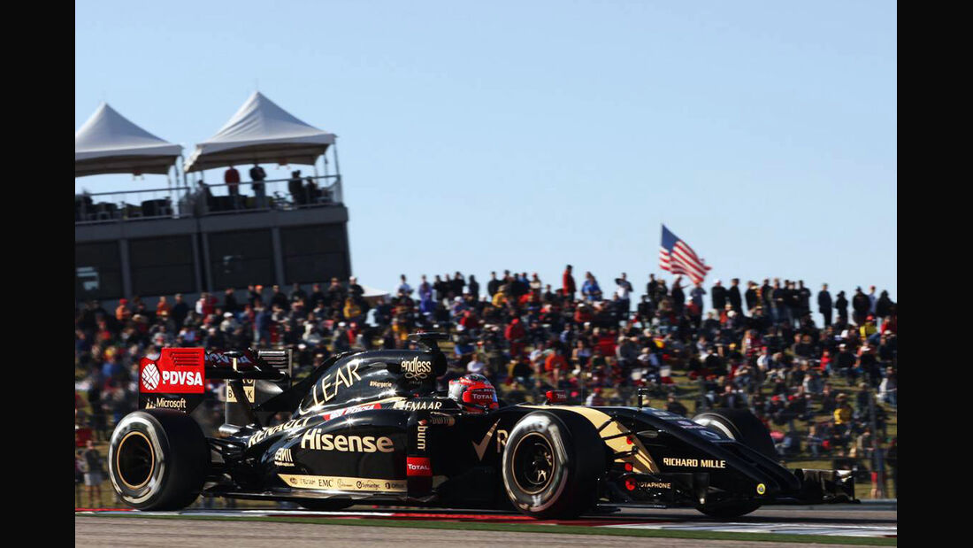 Romain Grosjean - Formel 1 - GP USA - 1. November 2014