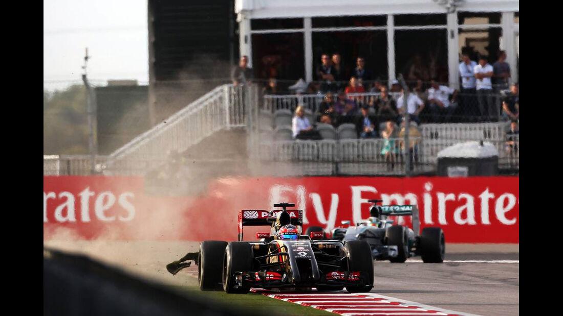 Romain Grosjean - Formel 1 - GP USA - 2. November 2014