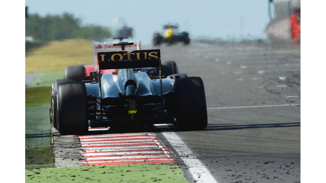Romain Grosjean - Formel 1 - GP Ungarn 2013
