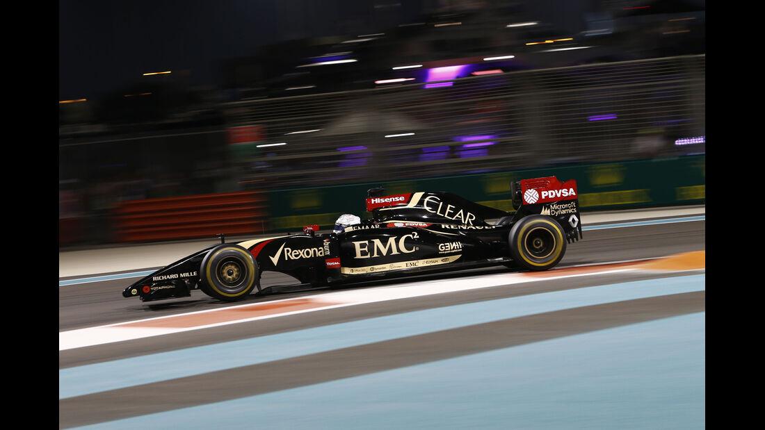 Romain Grosjean - GP Abu Dhabi 2014