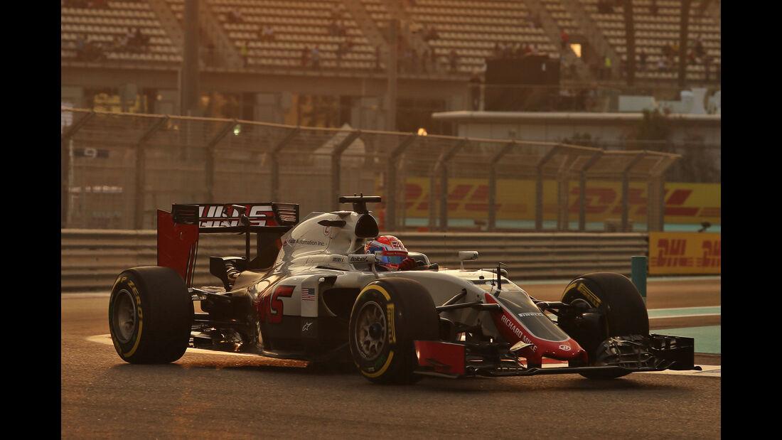 Romain Grosjean - GP Abu Dhabi 2016