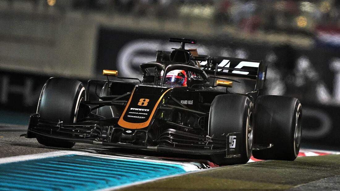Romain Grosjean - GP Abu Dhabi 2019