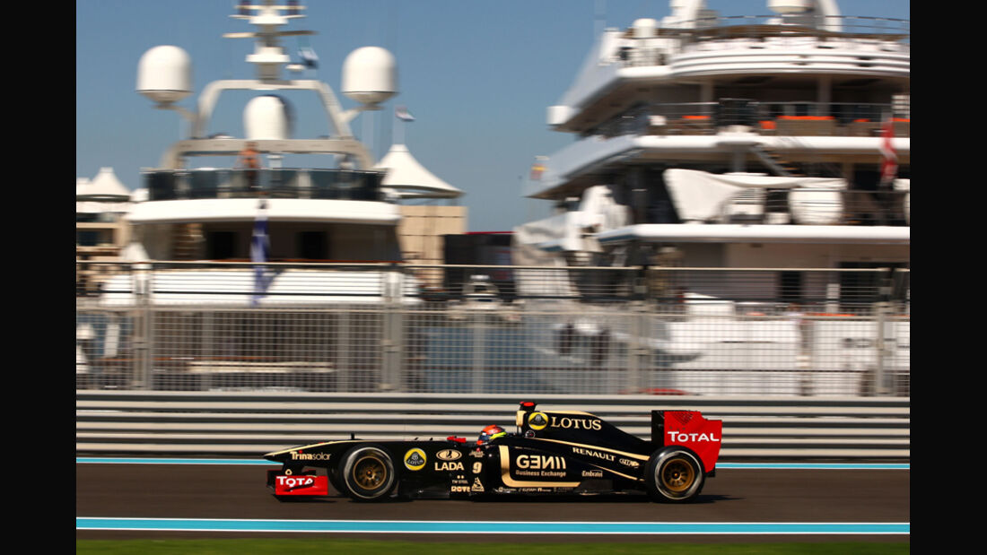 Romain Grosjean - GP Abu Dhabi - Freies Training - 11. November 2011