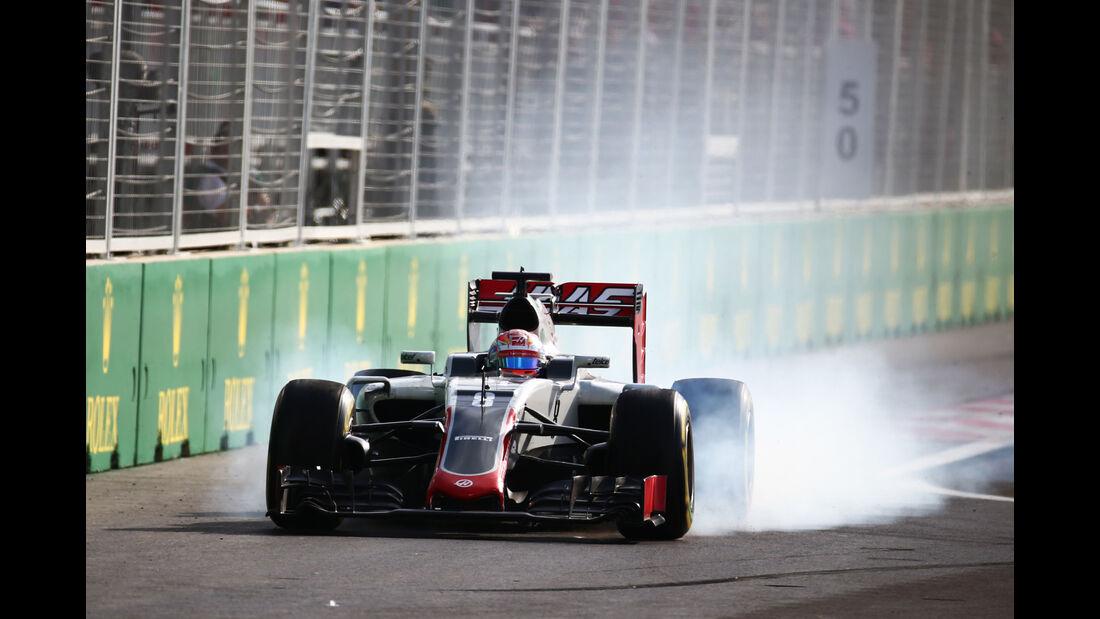 Romain Grosjean - GP Aserbaidschan - Formel 1 - 2016